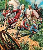 George II at the battle of Dettingen