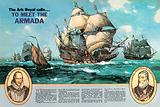 The Ark Royal Sails to Meet the Armada