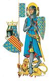 Louis the Ninth, leader of the last two Crusades and one of the greatest kings of France (1226-70)
