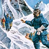 News of the conquest of Everest rang around the world