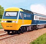 British Rail's InterCity125 launched in 1976
