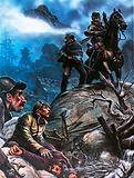 Gold prospectors in New Zealand