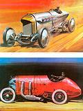 Blitzen Benz (top) and Fiat 576 (bottom)