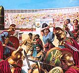 Slaughter in the Hippodrome of Constantinople, Nika Revolt, 532
