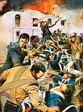 Battle of the Alamo, Texas Revolution, 1836