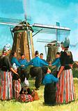 Dutch dance called De Zevensprong, or Seven Jumps