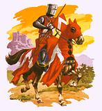 Fully-armed knight of about 1230