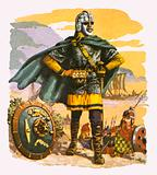 Anglo-Saxon king of the sixth century AD