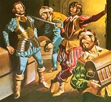 Pirates at work