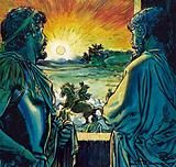 Alexander the Great taming Bucephalus