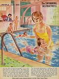 The Swimming instructress