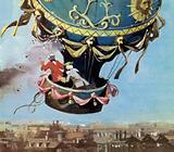 The first men to fly were de Rozier and d'Arlandes in a hot air balloon