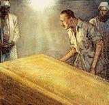 Howard Carter discovered the chamber of Tutankhamen's coffin