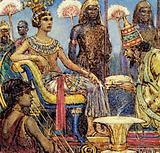 Tutankhamen in his glory days