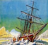 Sir Ernest Shackleton's ship the Endurance was crushed by ice to matchwood