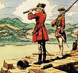 Heyward studies the defences of Fort William Henry