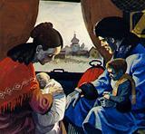 Nijinski grew up endlessly travelling through Russia