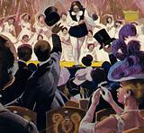 Diaghilev presented Nijinski and his ballet company in Paris