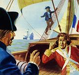 Mary Anne Talbot was shanghaied aboard a French ship