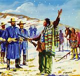 Chief Joseph made a moving speech promising to fight no more