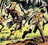 Magua has planned his escape well and left marksmen to attack any pursuers