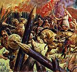 Boadicea attacked the Roman fortress at Colchester