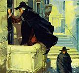 As Almaviva climbs the balcony, he has no idea what is awaiting him