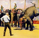 Cecil DeMille made a movie about a circus