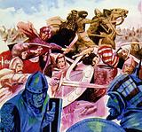 Charlemagne spent 15 years battling the Saxons