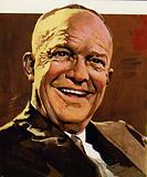 Eisenhower won the 1952 and 1956 elections