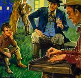 Anton Dvorak loved to hear his father play the zither
