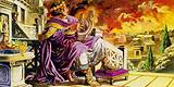 As Rome burned, Nero sat on his balcony composing a poem