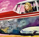 Sheila Scott's plane managed to keep going