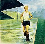 At the peak of his career, Zatopek ran at least 12 miles every day