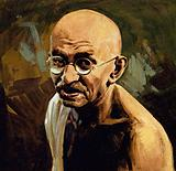 Gandhi was known as Mahatma, or Great Soul