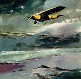 Commander Byrd flew over the North Pole in one of Fokker's planes