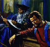 Da Vinci used the same model for Jesus and Judas