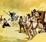 Don Quixote believed the monks had kidnapped a princess