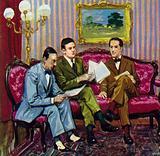 Gershwin met Maurice Ravel, Igor Stravinsky and Darius Malhaud
