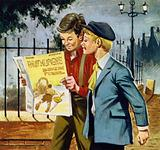 Following the publication of Scouting for Boys, boys began forming scout troops