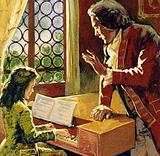 Bach was taught by his brother to play the harpsichord