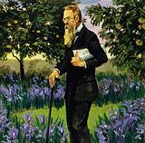 Rimsky-Korsakov suffered a heart attack but recovered enough to walk in his garden