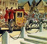 Rassendyll and Princess Flavia rode to the palace