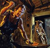 The Harmonious Blacksmith was based on the melodic rhythms coming from an anvil