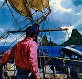 After selling some pictures, Gauguin travelled to the South Seas