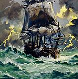 The stormy trip inspired Wagner's The Flying Dutchman