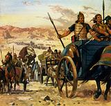 The Zealots chose to fight on and fled to Masada near the Dead Sea