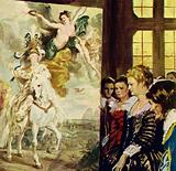 Rubens painted a number of canvases depicting the life of Marie de Medici