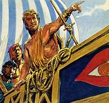 Ulysses warned his men that they would need to row for their lives