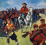 Volunteers flocked to his side and Garibaldi was abel to win Sicily and Naples